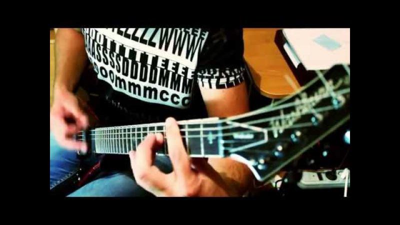Disturbed Stricken(guitar cover HD)