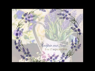 Весільний кліп Андрія та Яни _ вересень 2016