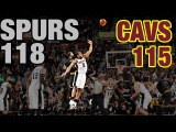 Crunch Time In Cleveland Re-Live The 4th Quarter &amp OT In Spurs Huge Comeback Win
