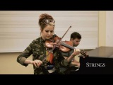 Lindsey Stirling - The Arena Acoustic performance for Strings Magazine