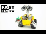 LEGO IDEAS 21303 WALLE Fast Review