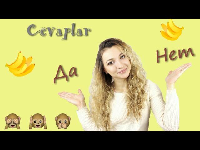 15 Rusça kullanışlı cümleler. Olumlu cevaplar ve ret etme cümleleri. Türkler için Rusça dersler
