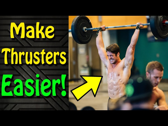 Try This Thruster Technique! (WODprep Tutorial)