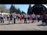 Флэшмоб на 9 мая 2015. Красноярск.