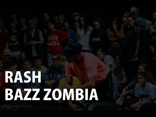 RASH Vs. BAZZ ZOMBIA | HIP-HOP PRO FINAL | TOP8 Styles Connection