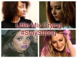 The saddest day in the world Little Mix Crying