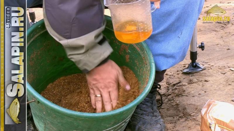 Подкормки для рыб своими руками