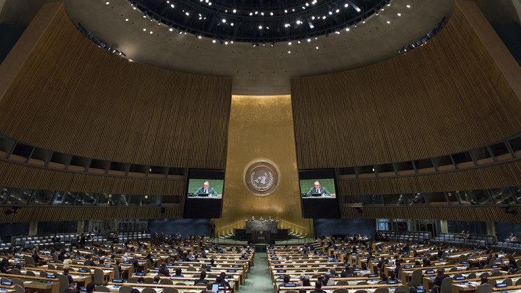 Генассамблея ООН одобрила резолюцию о прекращении огня в Сирии