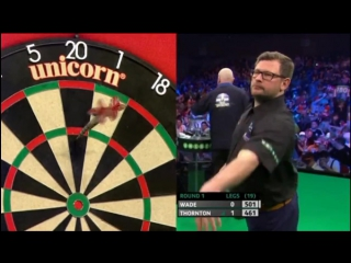 James Wade vs Robert Thornton (PDC Unibet Masters 2017 / Round 1)