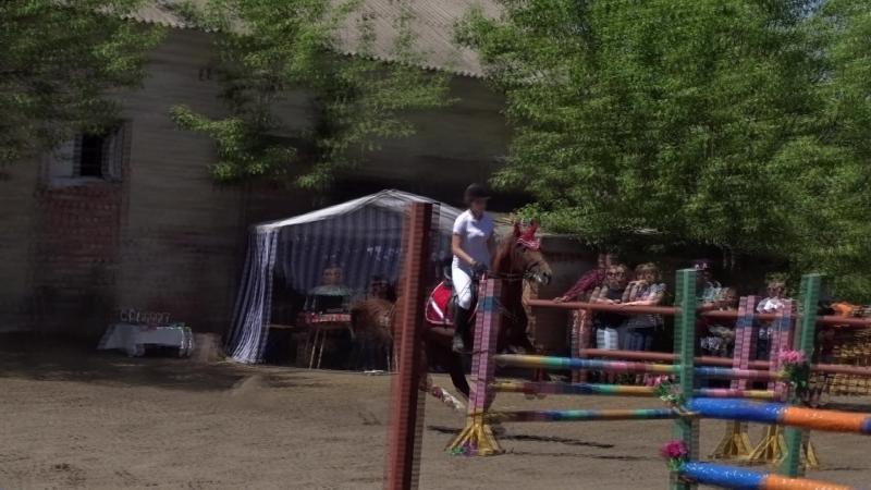 Чимбель Кристина на Хансаре 90см-1ое место
