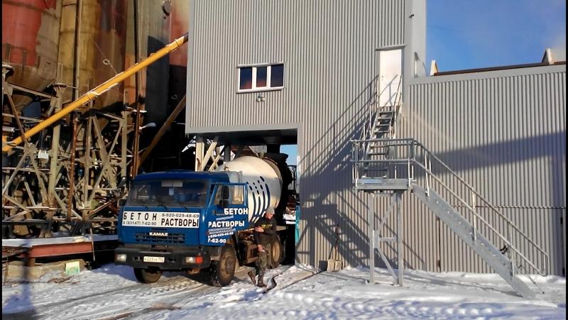 Видео от наших Заказчиков: бетонный завод MEKAMIX-60 COMPACT в г. Арзамас