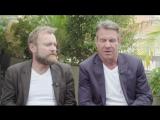 Интервью с Ричардом Дормером и Деннисом Куэйдом о втором сезоне