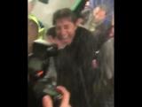 🏆🇬🇧⚽ Чемпионский душ для Конте 🍷🍷🍷ЧЕЛСИ ЧЕМПИОН!