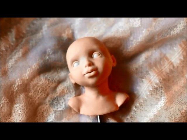 Лепка головы куклы автор Татьяна Малушкина