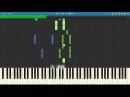 IOWA - Маршрутка Piano Version - пример игры на фортепиано
