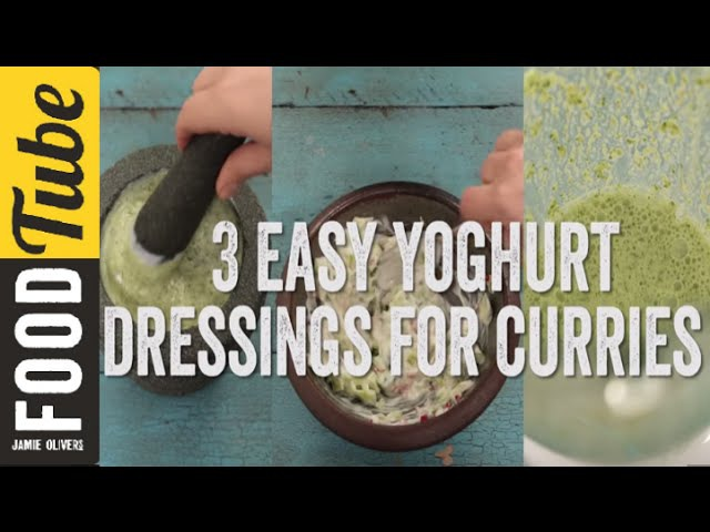 How To Make Raita 3 Ways | Awesome Yoghurt Dressings for Curries