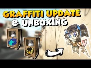 CS:GO - Graffiti Update and Opening 10 Graffiti Boxes!