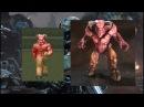 Doom 93-94 vs Doom 2016 - Equivalent Monsters Comparison