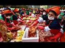 Тысячи южнокорейцев собрались на площади чтобы готовить кимчи новости