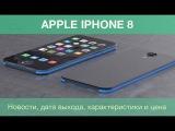 Каким будет iPhone 8 за 2 минуты.