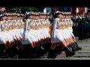 Путинская «армия в мини юбках» Парад 9 мая 2016г