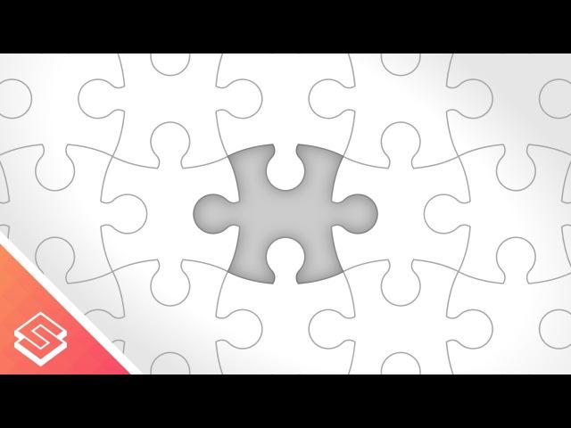 Inkscape Tutorial: Vector Puzzle Pieces
