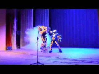 Bumblebee & Iron Man (Patriot) Any Robots на Akari Fest 27.08.2016 Житомир