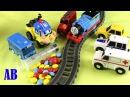 Видео для детей про игрушки Паровозик Томас и его друзья Машинки подряд все серии.