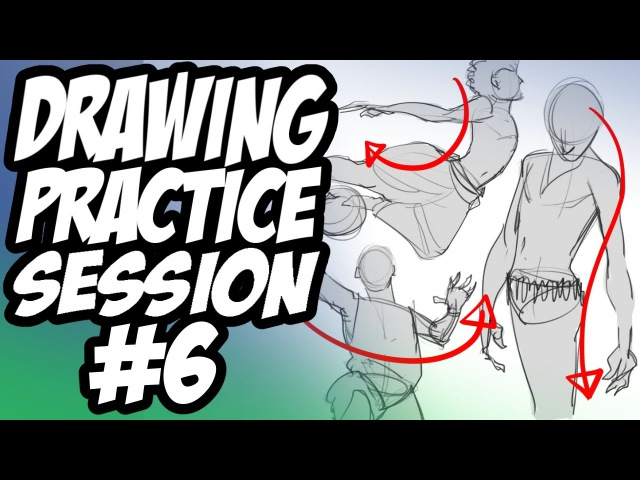 Drawing Practice Session 6 - Gesture Sketching / Ethnicity In Art