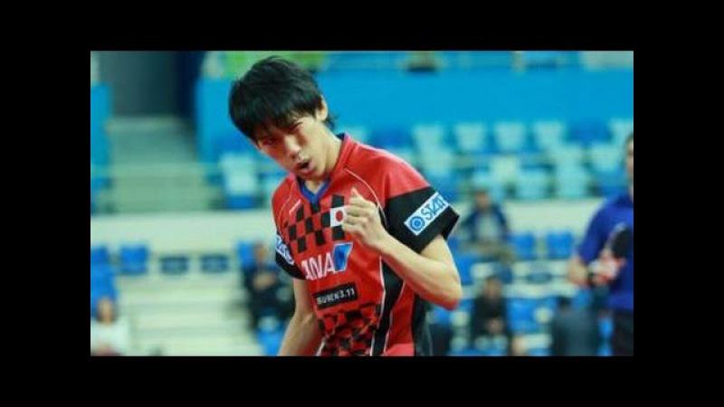 SZOCS Hunor vs YOSHIMURA Maharu - Seamaster 2017 ITTF World Tour, Korea Open