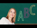 German Lesson (3) - The ABC - A1