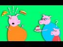 Свинка ПЕППА на русском ВСЕ серии ПОДРЯД #2 Беременная мама Свинка. Cмотреть муль ...
