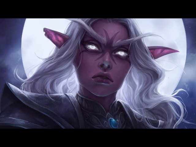 Astri Lohne — Feyawen | Digital Painting Process