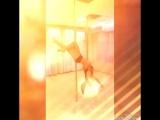 #Pole dance, Это такой не легкий труд, столько силы, терпения, желания...и только потом красивый танец! Но пока я в пути😄😆😋