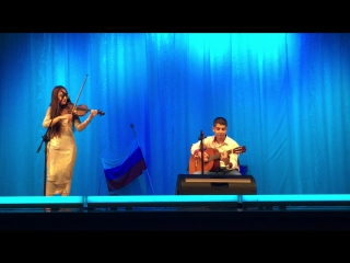 Часть концерта Novruz Bayrami скрипка и гитара