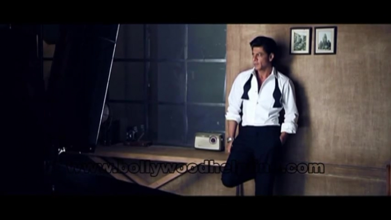 Making of SRK Stylised Photoshoot..TAG HEUER