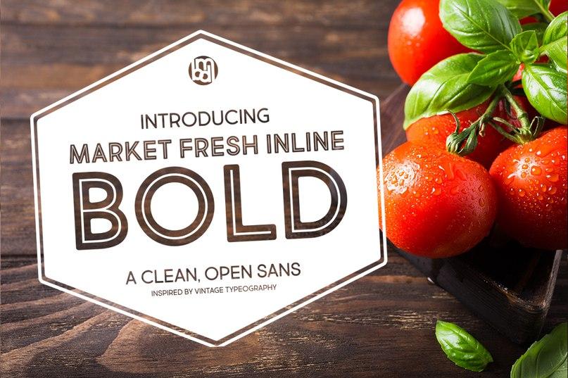 Download Market Fresh Inline Bold font (typeface)