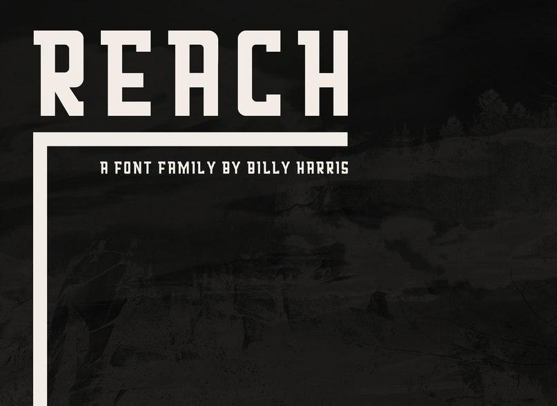 Download Reach font (typeface)