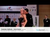 Gabriele Goffredo - Anna Matus. Brno Open 2014. WDSF WO latin. Final - Rumba