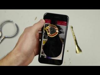 iPhone 7 не прошел тест на прочность расплавленным золотом