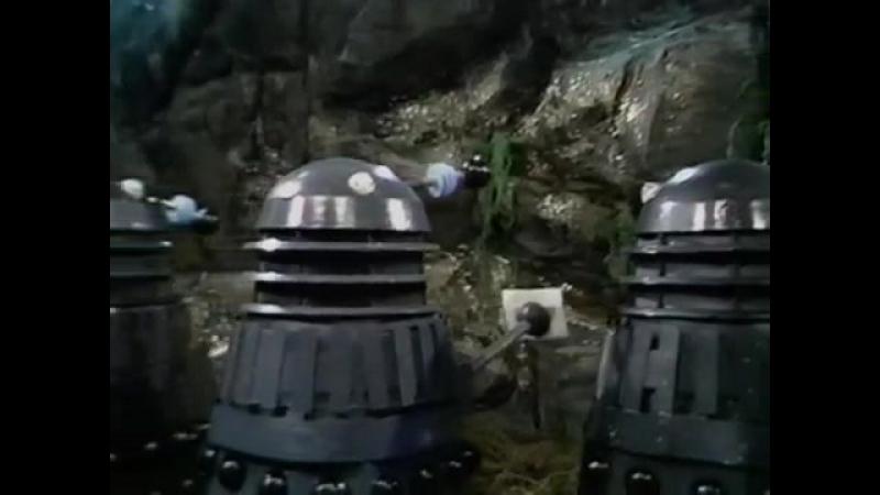 Классический Доктор кто - 10 сезон 4 серия - Планета далеков (4 часть) | TARDIS time and space