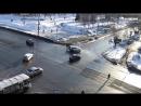 ДТП Бийск на перекрёстке ул. Коммунарский - Ленина.