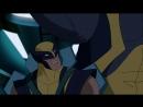 Росомаха и Люди Икс 3 серия Взгляд в прошлое 3 часть