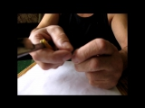 проверка лезвия опаски на сыпь(равномерность заточки)