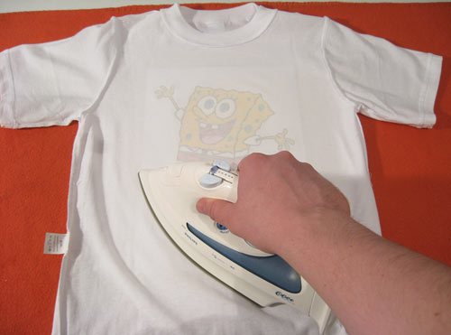 Как перевести на футболку домашних условиях 36