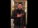 Приветствие Константиноса Аргироса для руссского фан клуба Москва 26 10 2016
