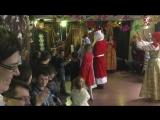 новогодний детский праздник в клубе Джерри Рубина часть 13 Прощание с Дедом Морозом