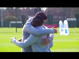 Sadio Mané and Emre Can attempt to recreate Papiss Cisse's