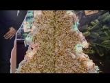 Сладкая ёлка из попкорна в МОНИТОР Максимум Шахты