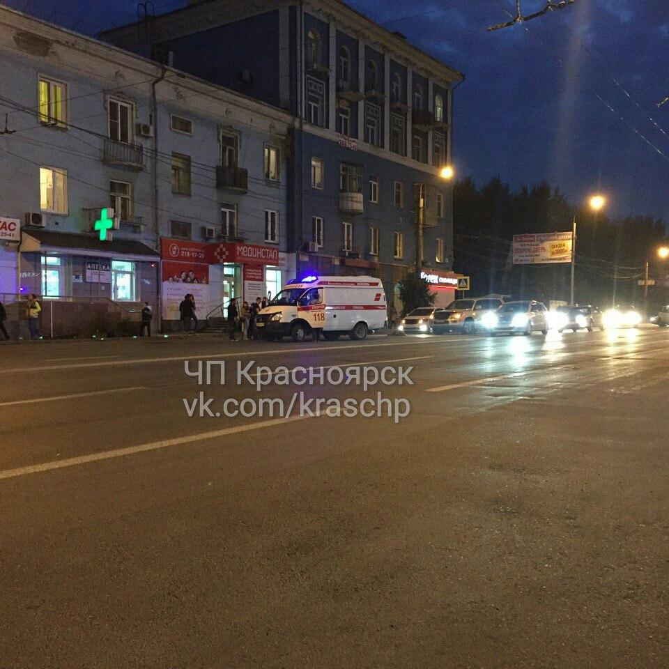 ВКрасноярске напроспекте Свободный «Лексус» сбил ребенка